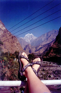 Tatopani, Anapurna Curcuit: Nepal, November 2001