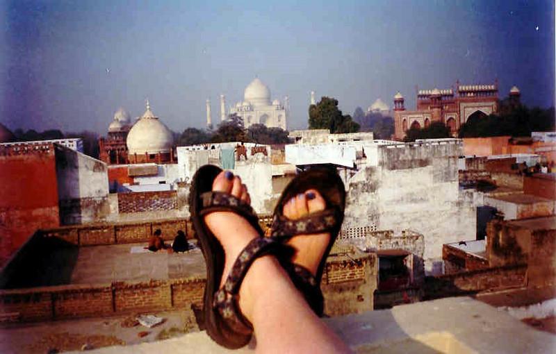 Taj Mahal, India: December 2001