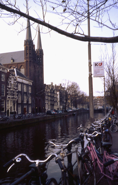 Canals and bikes.