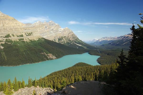 Canadian Rockies, August 2013