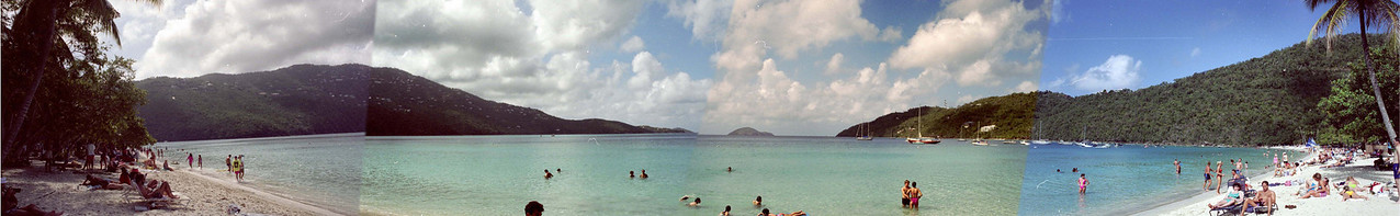 Magen's Bay, St. Thomas, February 1991