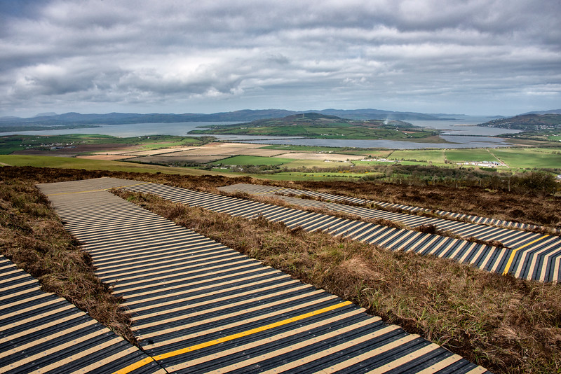 View of Lough Swilly, Donegal