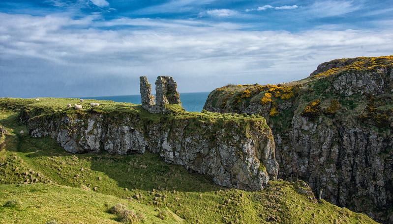 Dunseverick Castel Ruin Antrim Coast