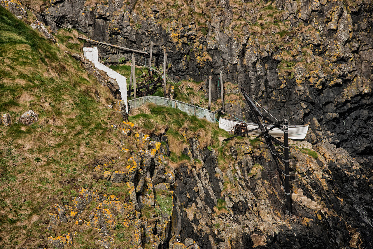 Fishing house Carrick-a-Rede