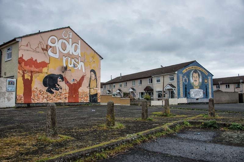 Lower Shankill Murals
