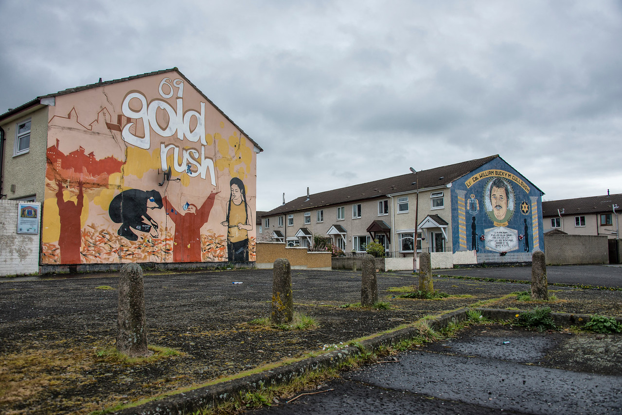 Lower Shankill Murals