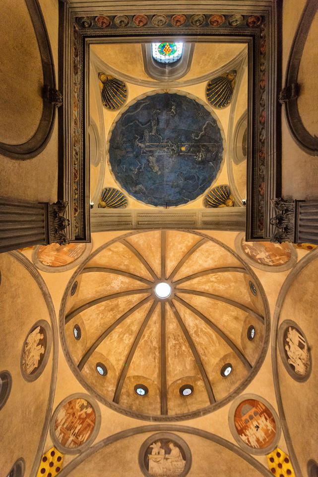 Ceiling Basilica di S  Lorenzo