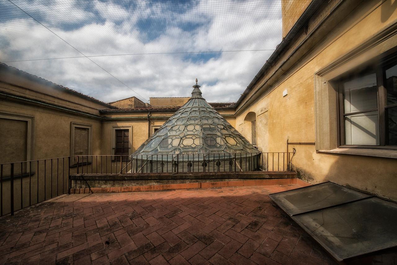Courtyard-La Specola Museum