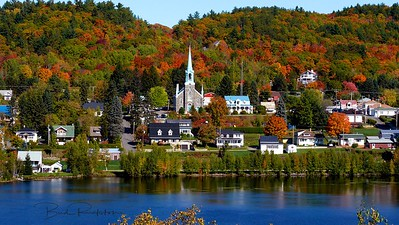 Quebec in fall