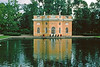"String Quartet in al fresco concert in front of one of the bath houses on the Catherine Palace grounds.<br />  <br /> The story goes that there was a Finnish farm here in the 17th century called ""Saari mois."" When it became a possession of the Tsar in 1708, the Finnish toponymy ""Saari mois"" was transformed into ""Tsarskaya Mysa"" which was thought to sound more Russian."