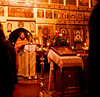 An Orthodox mass seems to have all the major parts I learned in Latin, but the forms and symbols are all both cognate and weird.<br /> <br /> The settings and symbology -- although lacking the familiar statuary -- are infinitely engaging and transcendent.