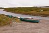 Canoes in Attawapiskat