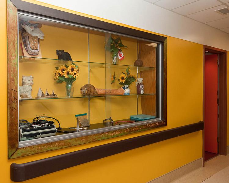 Display of hospital artifacts in Attawapiskat