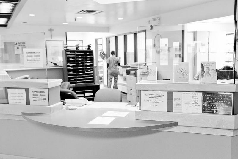 Front desk JBGH Attawapiskat