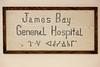 Original sign for JBGH Attawapiskat