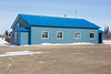 New Fort Albany Airport terminal.