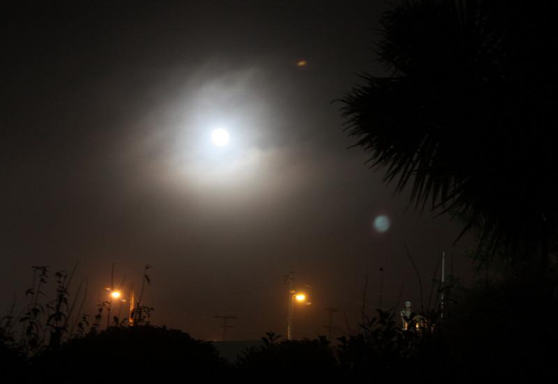 Moon over Ft. Bragg
