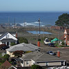 View from top of Weller House - highest point in Fort Bragg