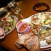 """I had a plate of Mexican Fiesta which is, as Kelly described it, """"a plate of goodness""""."""