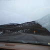 On our way to Breckenridge. This is a nice shot of Kelly's windshield.