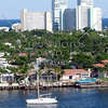 A view in Fort Lauderdale, Florida.