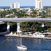 A bridge at Port Everglades in Fort Lauderdale, Florida.