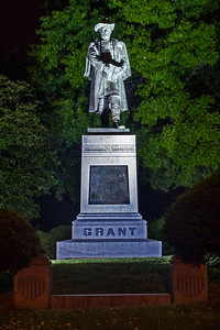 Grant Statue at Night (c) 2012, Karin Markert, kmarkert88@gmail.com, all rights reserved.
