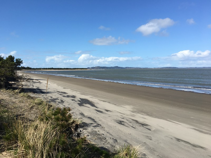 Beach at Fort Stevens