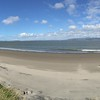 Panoramic beach at Fort Stevens