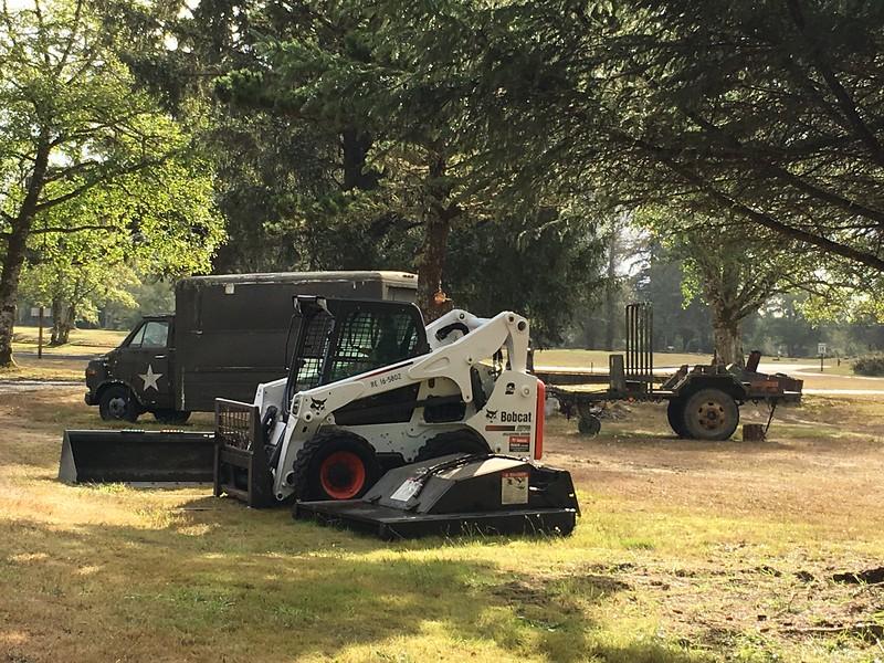 Fort Stevens equipment