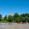 Kayaking St Mary's River, Fort Wayne, Indiana