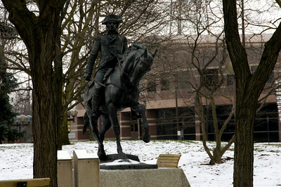 Statue of General Mad Anthony Wayne