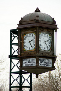 Clock tower at Baker Street Railroad Station