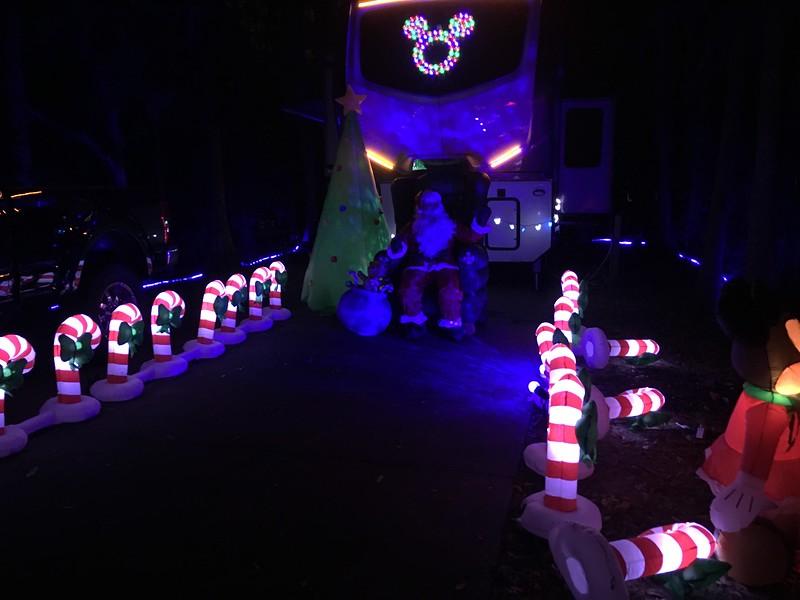 Campsite decorations!
