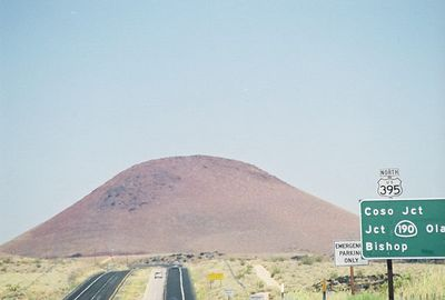"7/7/00 ""Red Hill"" Cinder cone in the Coso Range off Hwy 395 northbound enroute to Onion Valley"