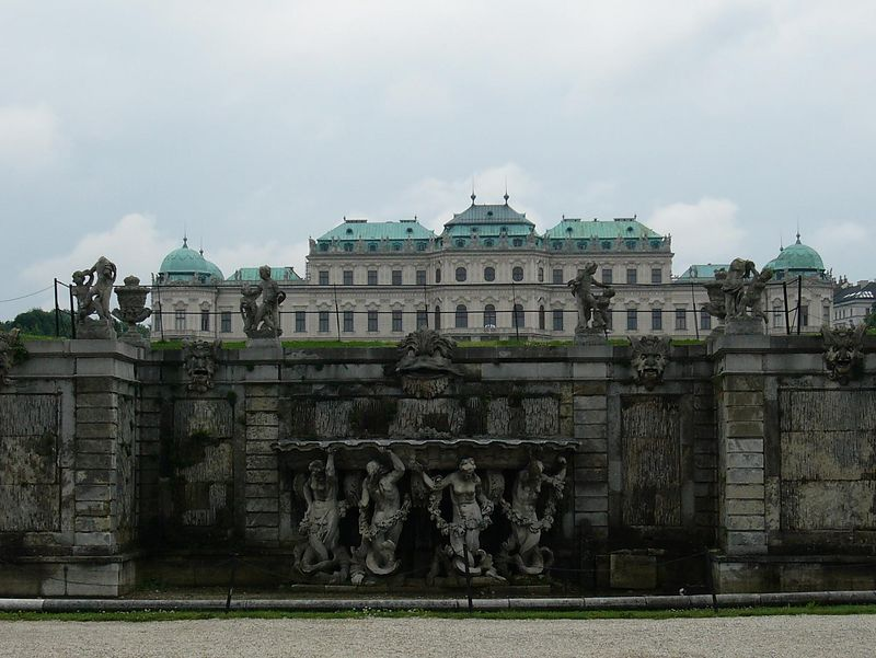 Vienna - The other end of the Summer palace