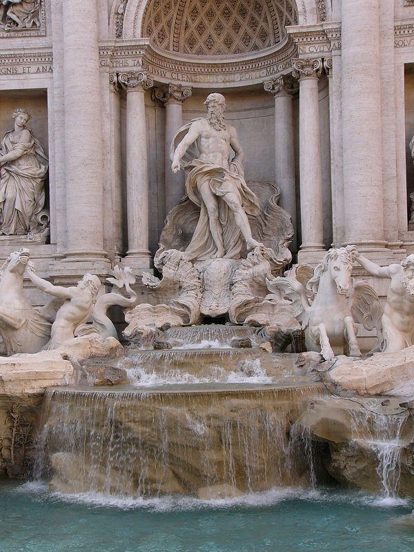 Rome - Trevi Fountain