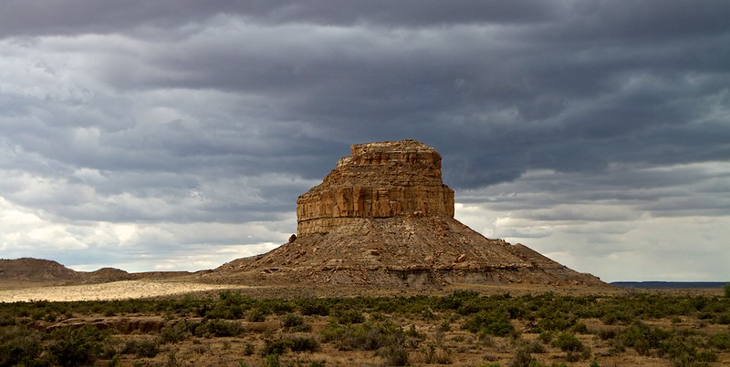 Fajada Butte - Chaco Canyon