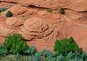 Rock formations in Canyon de Chelly