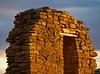 Chaco Canyon at sunset