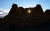 Chaco Canyon - Pueblo Bonito at sunset