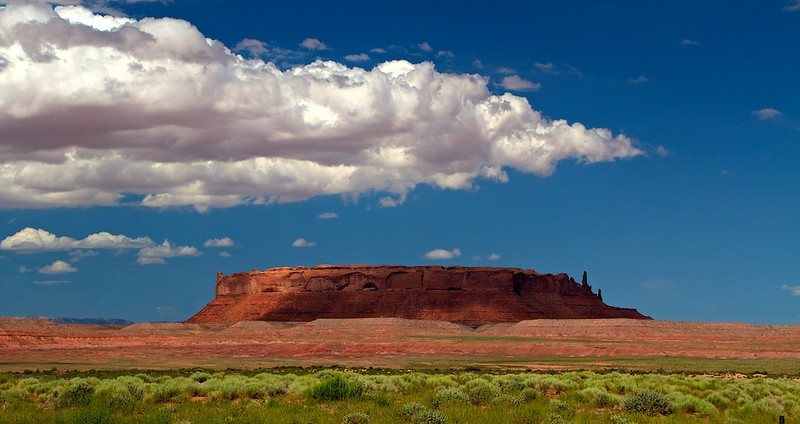 Red mesa on the Navajo res.