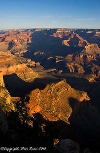 Grand Canyon from Yavapai Point shortly after sunrise.