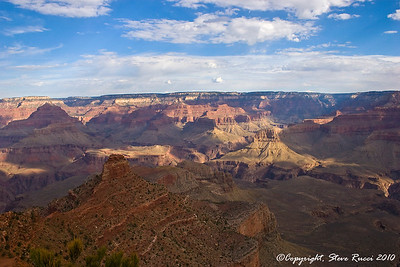 "View from ""Ooh Aah Point"", along the South Kaibab Trail - Grand Canyon National Park."