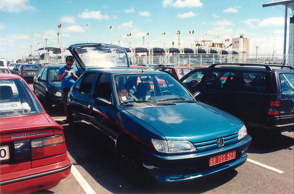 Dock side Calais France - Jul 1996