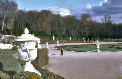 Jardins Palais de Versailles France - Oct 1978