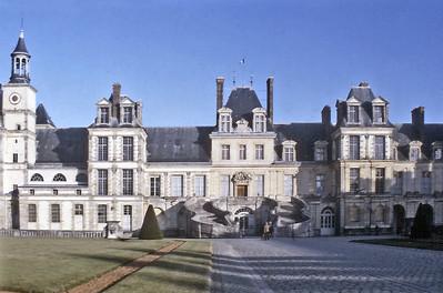 Chateau de Fontainebleau France - Mar 1979