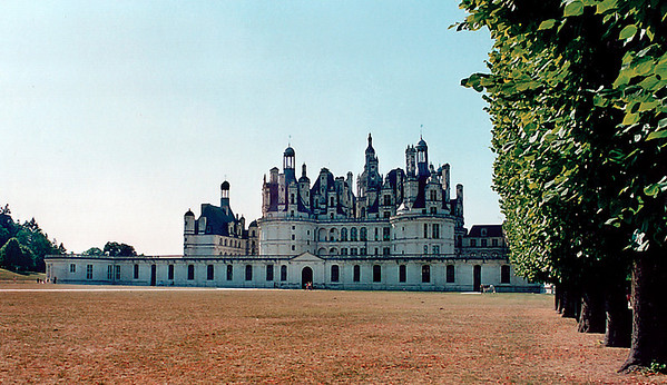 Chateau de Chambord France - Jul 1996