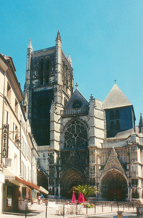 Cathedral Meaux France - Jul 1996