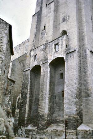 Palais des Papes Avignon France - Jan 1979